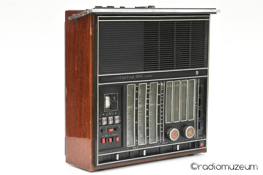 Radio receiver Leningrad 006