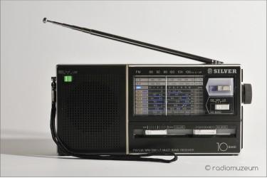 Silver XF2400, 10-диапазонный всеволновой радиоприемник